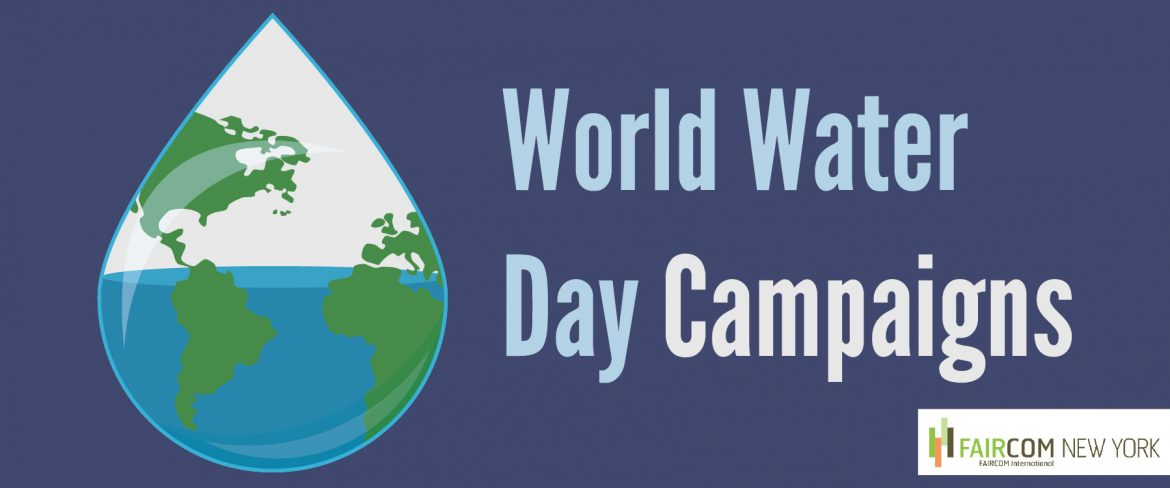 World Water Day Campaigns