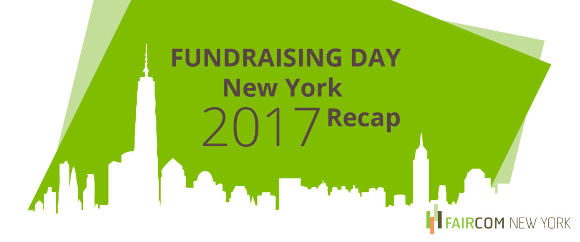 Fundraising Day New York 2017 Recap