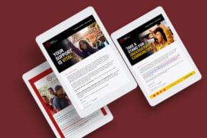 Nonprofit Email Marketing NUL