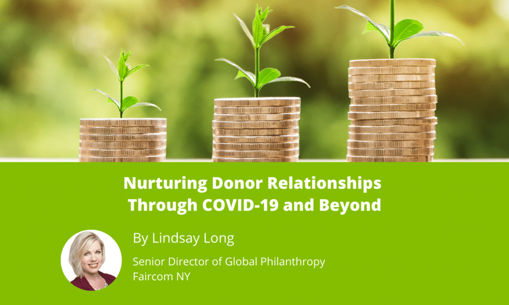 Nurturing Donor Relationships