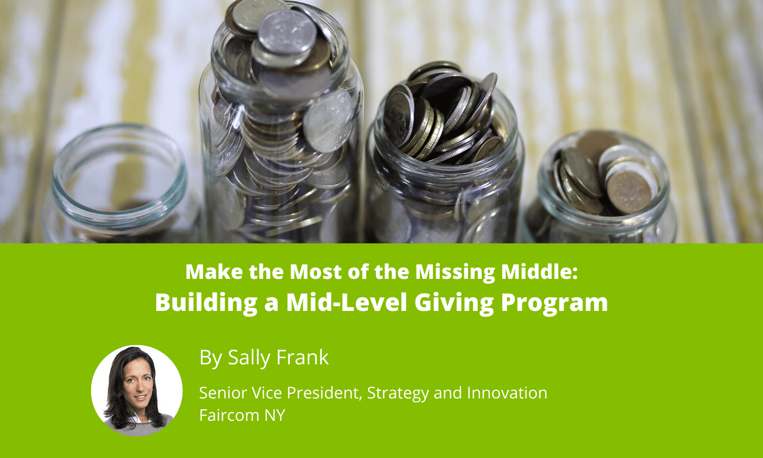 Building a Mid-Level Giving Program