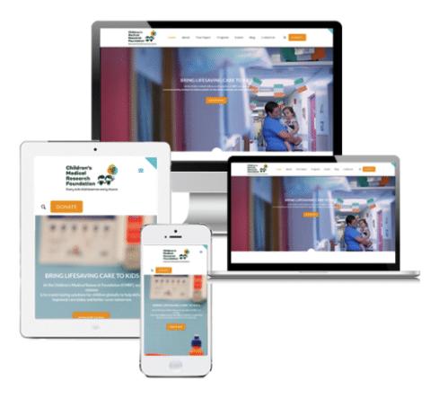 Mobile Responsive Nonprofit Web Design