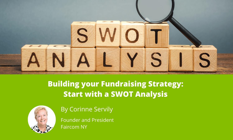 fundraising swot analysis