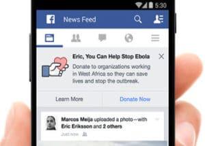 facebook ebola